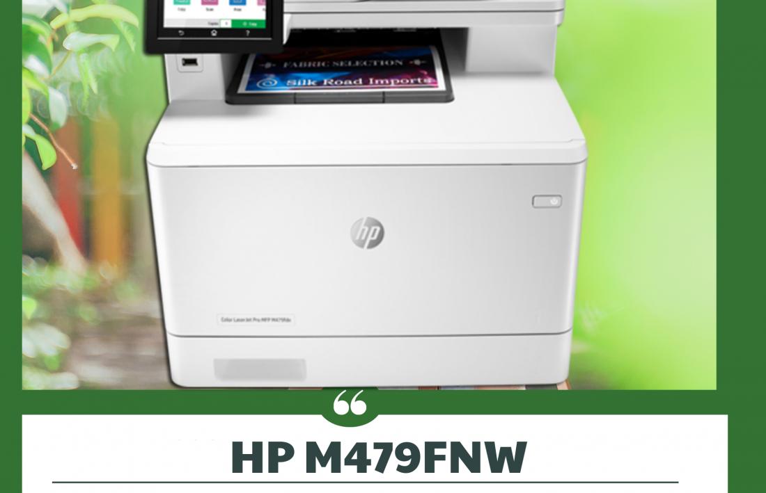 HP M479FNW RENKLİ YAZICI